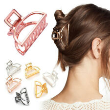 Solid Plastic Camber Hairpin Headwear Hair Crab Clip Claw Clamp Womens Acrylic