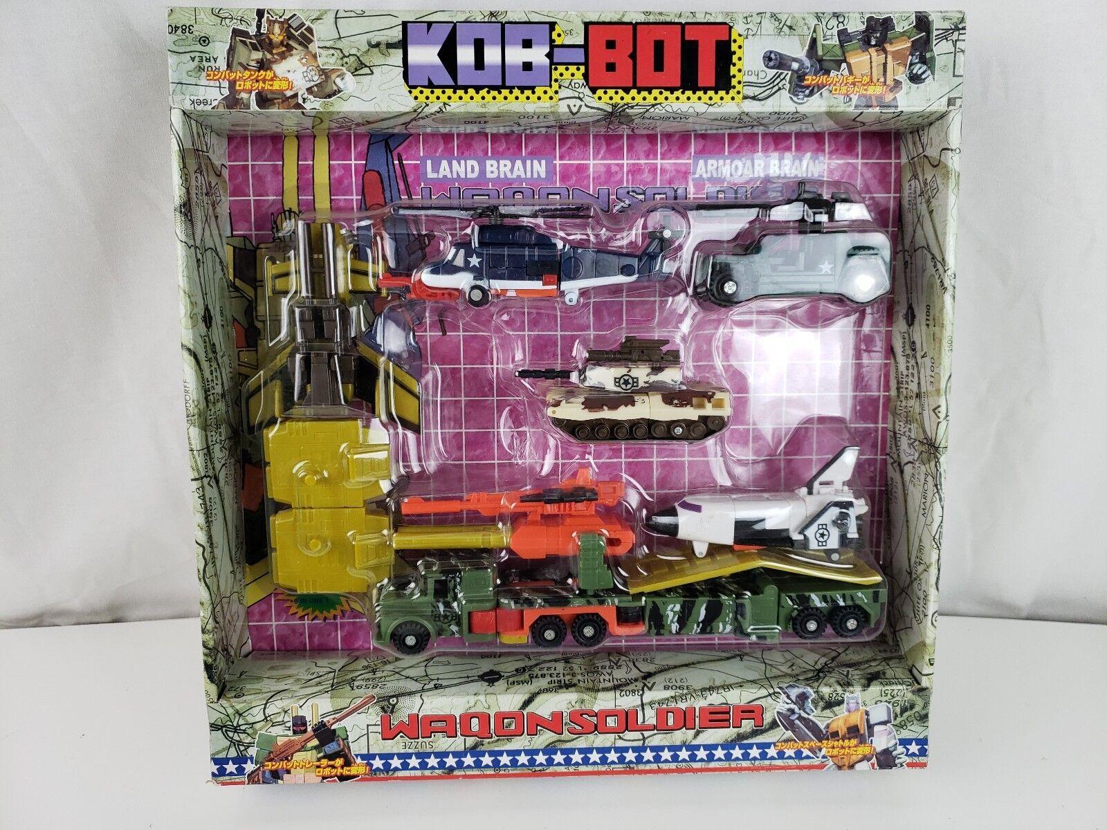 KOB BOT Waqon Soldier Bot - KO Bots - nuovo  Vintage  prendi l'ultimo