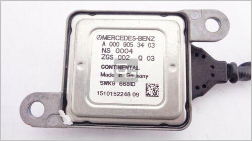 Nox Sensor Mercedes C-Klasse W204 Lambdasonde A0009053403 5WK9 6681D Continental