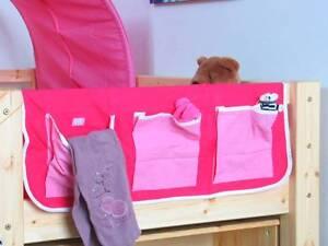 Das Bild Wird Geladen Thuka Flexa Stoff Haengetasche Organizer Aufbewahrung Fuer Kinderbett