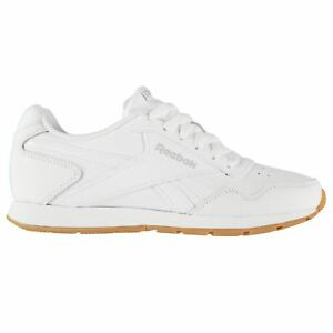 Reebok Womens Glide Trainers Classic Lace Up Padded Ankle Collar ... 399058b92