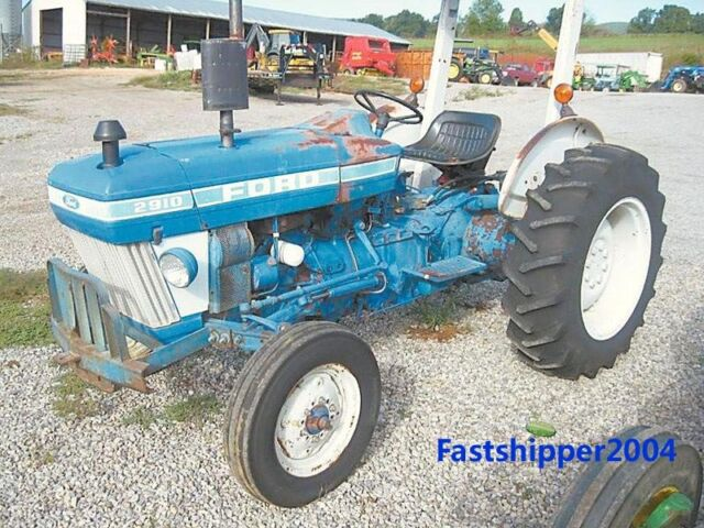 Ford Tractor Shop Manual Fo43 2810 2910 3910 for sale online   eBayeBay