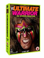 WWE Ultimate Warrior - The Ultimate Collection 3er [DVD] NEU