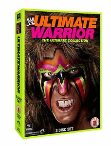 WWE-Ultimate-Warrior-The-Ultimate-Collection-3-DVDs-NEU-DVD