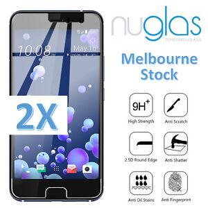2x-Genuine-NUGLAS-HTC-10-U11-Desire-650-Tempered-Glass-Screen-Protector