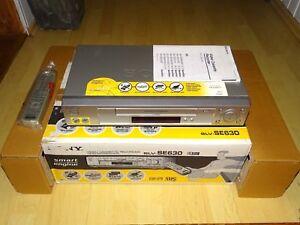 Sony SLV-SE630 VHS-Videorecorder, komplett in OVP, sehr gepflegt, 2J. Garantie