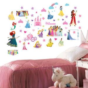 Details about Disney Prince wall sticker home decor wall decal girls  bedroom mural 70cmX35cmX2