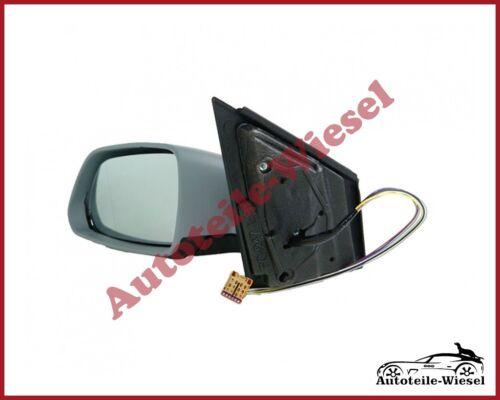 für VW POLO 9N 9N3 Ele Heizb Außenspiegel Links Asph