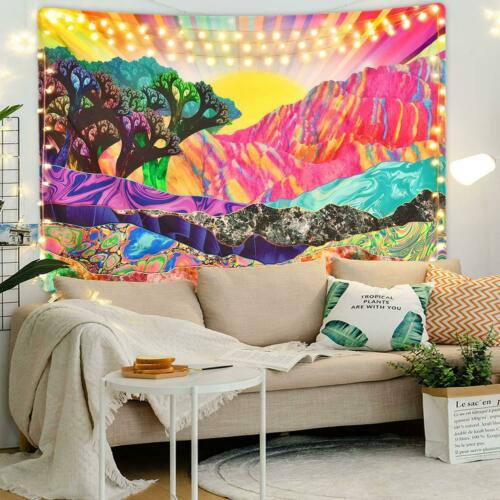Psychedelic Printing Background Cloth Painting Wall Hanging Home Decor Tapestry