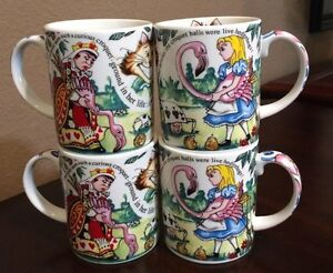 Cardew Design England Alice In Wonderland Mad Hatters Teaparty