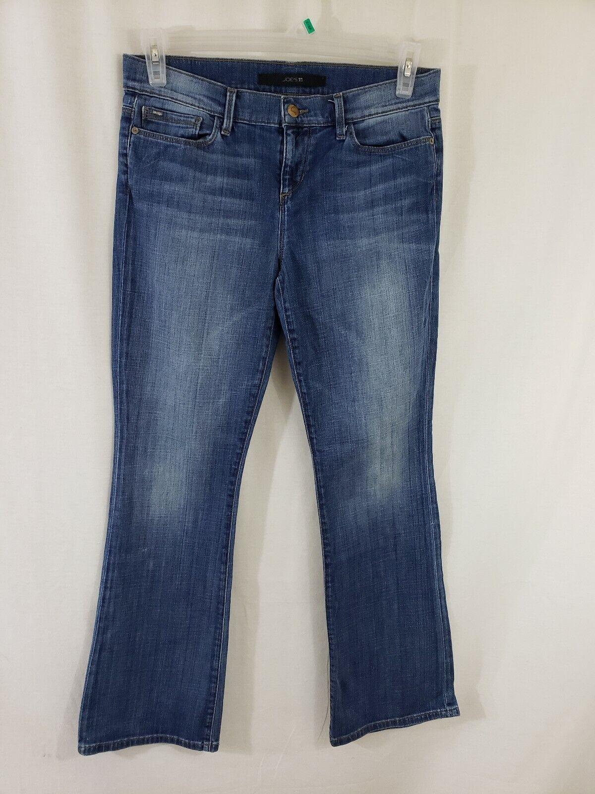 Joes Jeans Provocateur Womens Denim bluee Jeans Size 29 x 31 Boot Cut Medium Wash