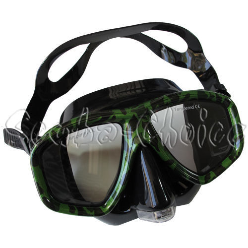 Camouflage Dive Purged Mask NEARSIGHTED Prescription  RX Optical Lenses  2018 latest