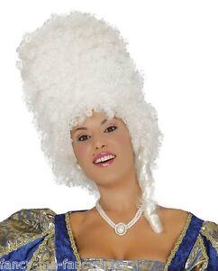 Mesdames Perruque ruche blonde Pantomime Fancy Dress Accessoires