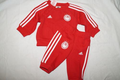 ADIDAS Baby Jogger Olympiacos Pireo track suit Jogging Calcio ap7926