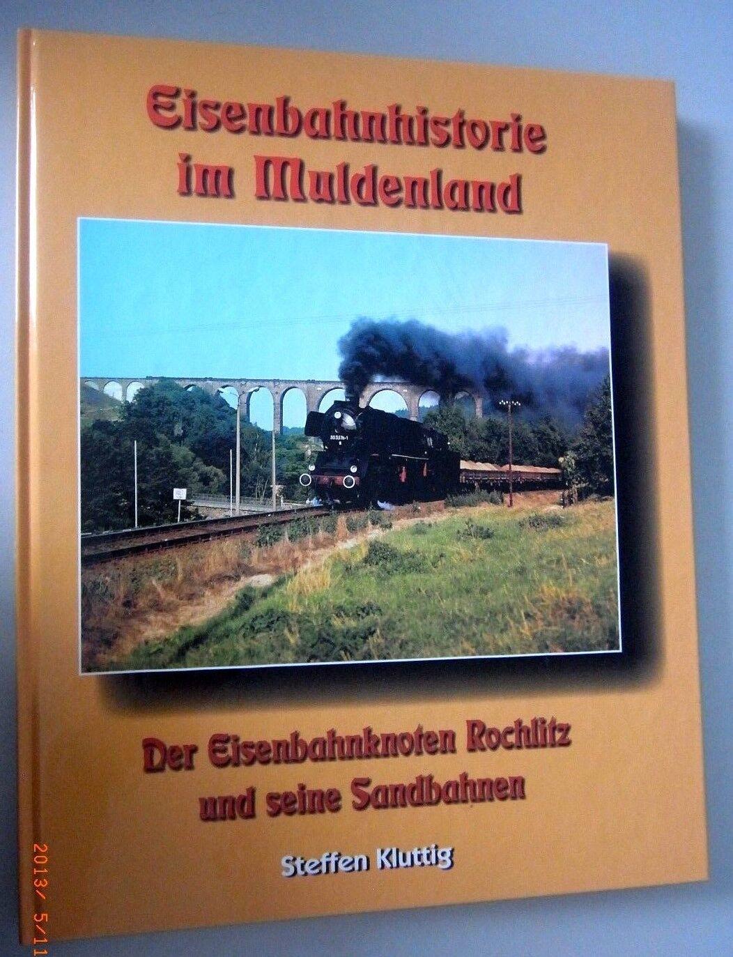Eisenbahnknoten Rochlitz and his sandbahnen  eisenbahnhistorie muldenland