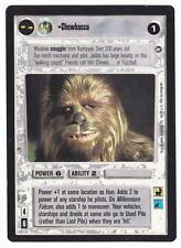 SWCCG Star Wars CCG • Chewbacca • A NEW HOPE • LIMITED BB RARE