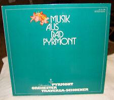 Musik Aus Bad Pyrmont LP, Orchester Traversa-Schoener, DRU-Studio Hannover