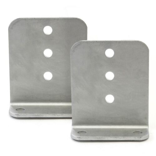 "2 6/"" x 5/"" Hot Dipped Galvanized L Type Boat Trailer New Bunk Board Brackets"