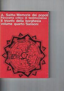 MEMORIE-DEI-POPOLI-A-SAITTA-VOLUME-4-SANSONI-1966