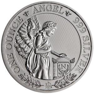 Silbermünze 1 oz Saint Helena Napoleon Angel 2021 in Stempelglanz