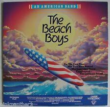 The BEACH BOYS  - An American BAND  over 40 Original Songs  Laserdisc Edition