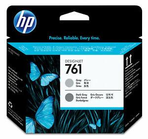 HP-761-Gris-Oscuro-Gris-Genuino-Original-Cabezal-de-impresion-CH647A-de-fecha-2018-de-cabezal-de