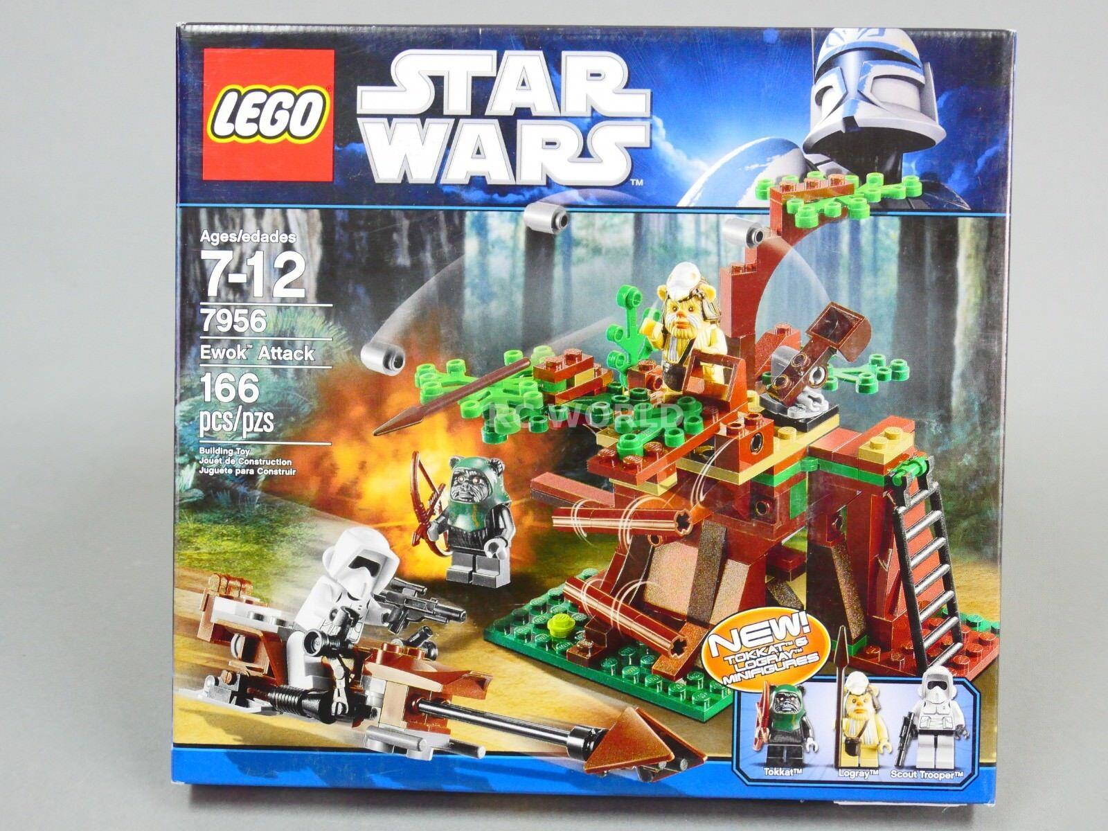 Lego Star Wars Ewok Angriff 7956  oa1