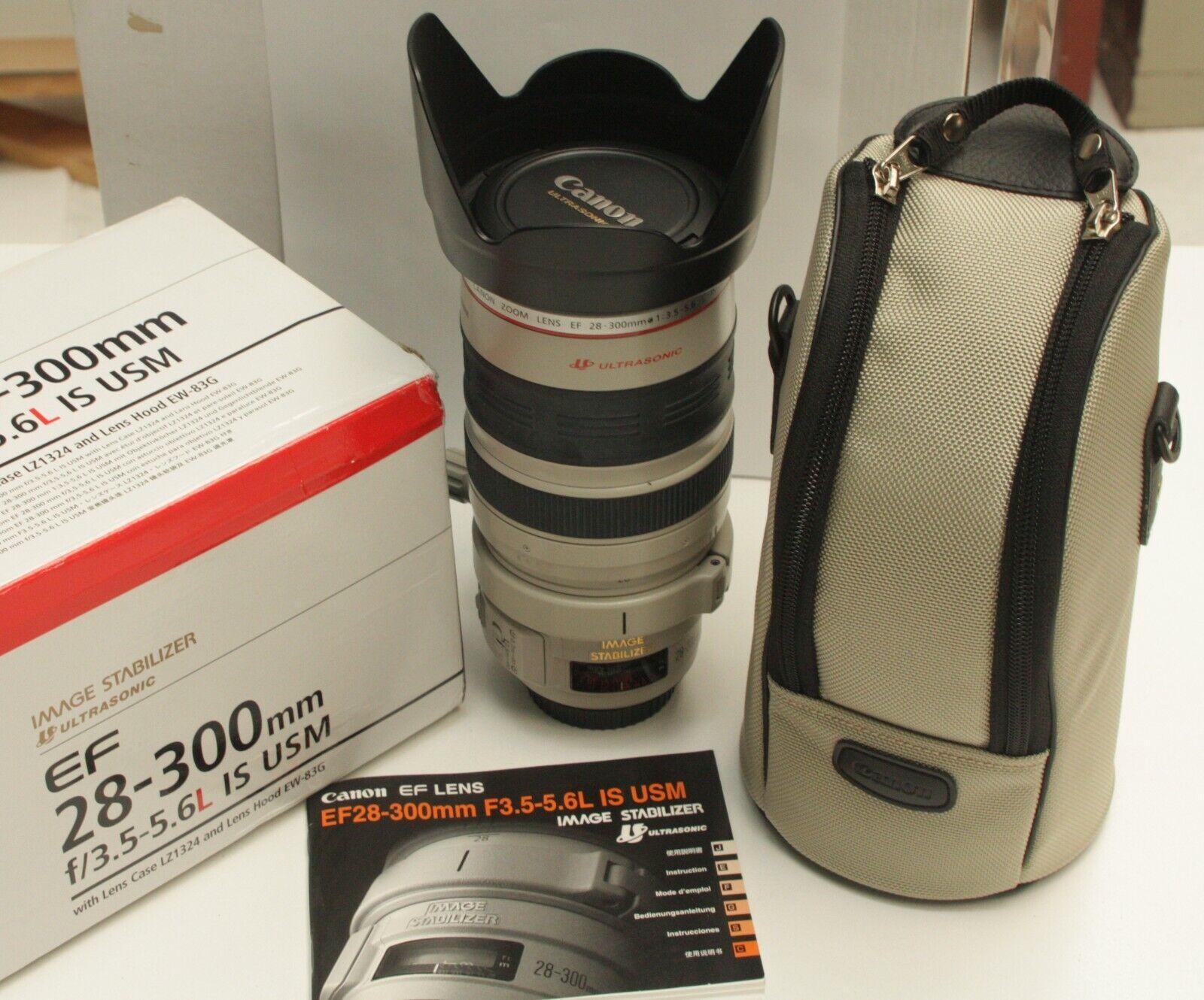 Canon Ef 28 300mm F 3 5 5 6l Is Usm Lens For Sale Online Ebay