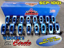 Scorpion Performance Scp1001 Sbc Roller Rocker Arms 15 Ratio 716 Stud