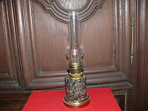 Petroleumlampe-Tischlampe-Petroleum-Lampe-ca-50-Jahre-alt