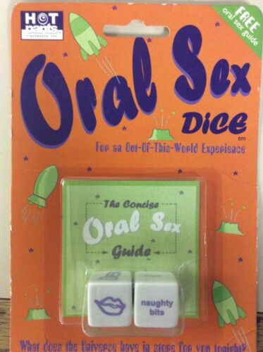 Oral Sex Dice for Couples
