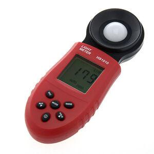 Digital Light Luminous Flux Meter HS1010 Range 0 - 200,000 Lux
