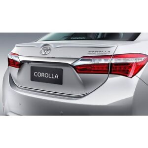 FIT-FOR-TOYOTA-COROLLA-2013-2018-Rear-Wing-Spoiler-Primed-Genuine-Style-Lip-ABS