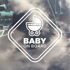 INTERNAL USE Baby On Board / New Baby Car Sticker. Pram/ Pushchair
