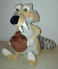 Peluche scrat 20 cm era glaciale 4 pupazzo originale ice age 4 plush soft toys