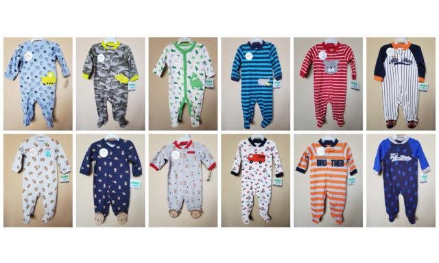 SIZE: NB 6-9M BABY BOY/'S SLEEP AND PLAY *NWT- CARTER/'S