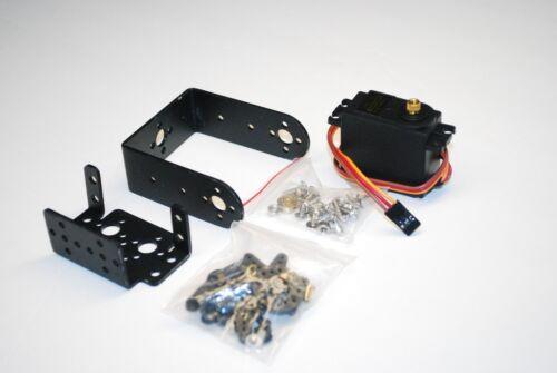 MG995 996 Servo PTZ Bracket 2 Degrees of Freedom Robotic Robot Accessories A120