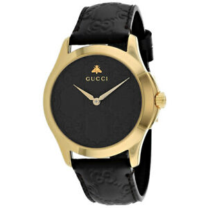 670d386f54c Gucci G-timeless Brown GG Dial Men s Watch YA1264035 for sale online ...