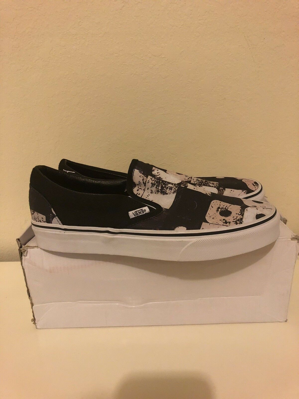 VANS x A TRIBE CALLED QUEST Mens shoes shoes shoes (NEW) Classic Slip-On ATCQ Size 8 9e4069