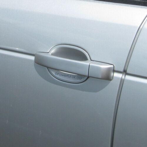Manija de la puerta de plata Zambezi cubre para pieles Range Rover L322 2002-09 LRC737 Nuevo
