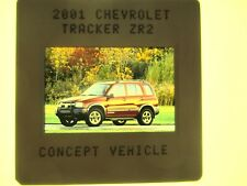 2001 CHEVY TRACKER ZR2 SALES BROCHURE MINT ORIGINAL W// COLOR POSTER R-53