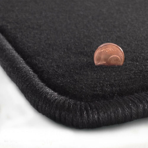 Velours schwarz Fußmatten passend für HONDA CRX Targa EG2 EH6 delSol 2-tlg