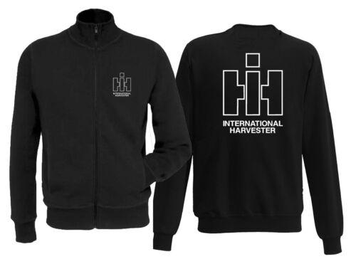 IHC Int HarvesterSweatjackeStehkragen Reißverschluss         245-47-02