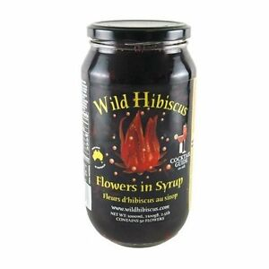 Wild Hibiscus Flowers In Syrup 50 Whole Flowers 25 Lbs