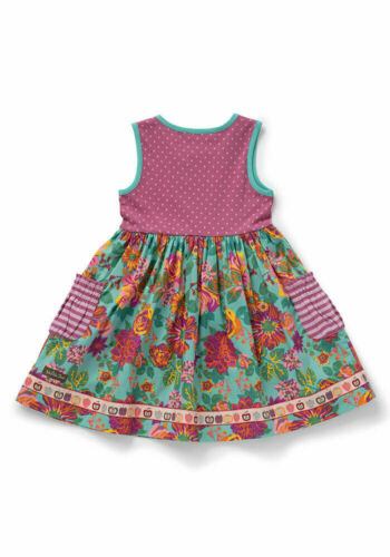 Details about  /Matilda Jane Girls Picture Day Dress Size 6 8 New In Bag Apples Fall Pink Flower