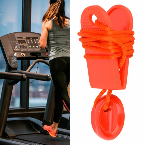 Universal Treadmill Safety Switch Lock Sports Running Machine Security Key Red