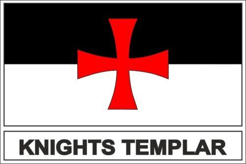 Sticker aufkleber  Flaggen  flagge fahne templer templeritter
