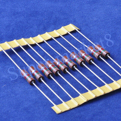 10pcs 1.5K ohm 1/2W Carbon Comp Composition Resistor ALLEN Style