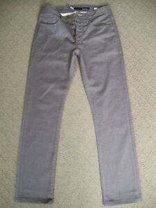 MENS-LEE-039-STOVEPIPE-L1-039-BUTTON-FLY-JEANS-SIZE-28