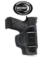 Cz 2075 Rami 3.05 Barrel Iwb Shield Single Clip Leather Holster R/h Black 1194